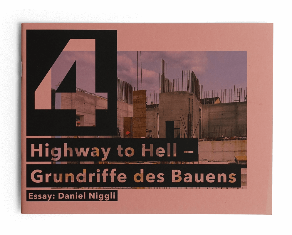 Cover 4 Highway to Hell Grundriffe des Bauens